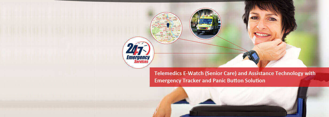 Senir Care program and Telemedics E-Watch